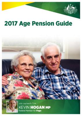 2017 Age Pension Guide